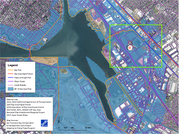 Where is the water going to come from acclimatewest the san francisco bay conservation and development commissions sea level rise maps for the bay publicscrutiny Images