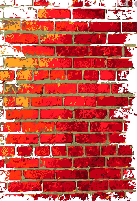 brick wall graphic
